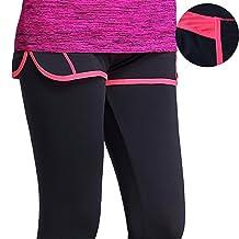 Harleya Women's Gym Workout Fitness Yoga Sports Pants Tummy Control