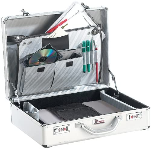 "Xcase Laptopkoffer: Aluminium Notebook-Koffer Design Case bis 17"" (Koffer Laptop)"