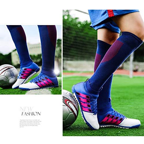 Plein Enfants Chaussures Clou Sport Football Anti Cassé Crampons Adultes De Baskets En dérapant Redstrong Air zWHOqdwnw
