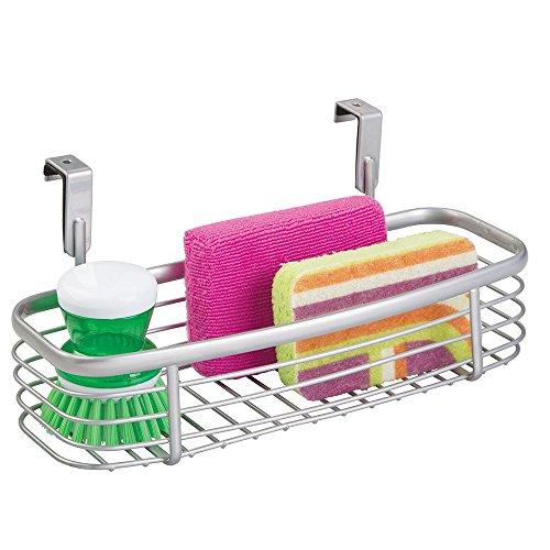 mDesign Cabinet Kitchen Organizer Scrubbers