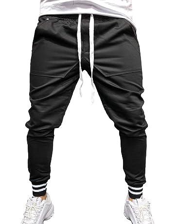 Pantaloni Sportivi da Uomo Pantaloni Sportivi da Jogging Hip Hop da Jogging  Pantaloni Casual da Running 903816f22ede