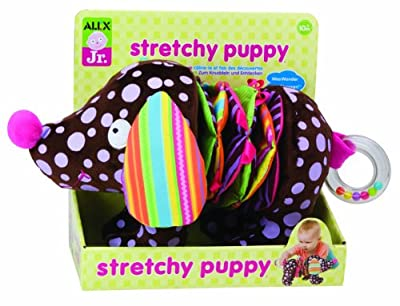 Alex Jr. Stretchy Puppy Plush Toy from Alex Jr.