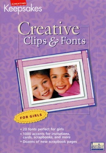 CD Clips & Fonts Girls ()