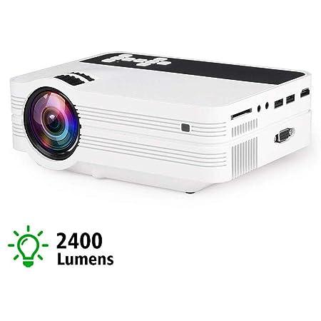 Inicio Wifi HD proyector micro, 1080P Multimedia Reproductor de ...