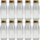 コルク瓶 M-200 200ml 〈39×33.5×15〉-10本セット-