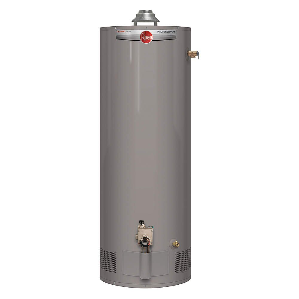 50 gal. Residential Gas Water Heater, NG, 38000 BtuH