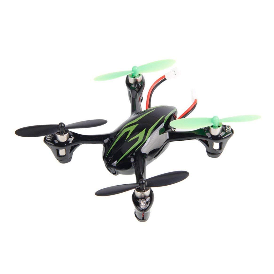 Delicacydex Professionelle RC Hubschrauber Mit 0.3MP Kamera H107C 2,4G 4 Kanäle Drohne RC Quadcopter Fotografie Videogerät - Schwarz & Grün
