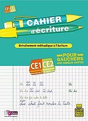 CAHIER ECRIT POUR GAUCHER CE