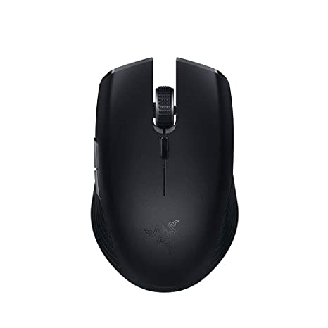 Razer Atheris Ambidextrous Wireless Mouse: 7200 DPI Optical Sensor - 350 Hr  Battery Life - USB Wireless Receiver & Bluetooth Connection - Matte Black