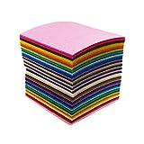 88pcs 4 x 4 inches (10 x 10cm) Assorted Color Mini