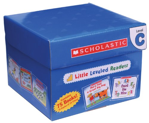 Little Leveled Readers: Level C Box Set: Just the Right Level to Help Young Readers Soar! (Scholastic Leveled Readers Little)