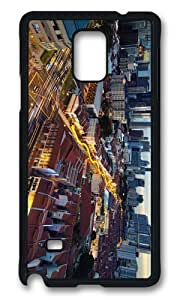 MOKSHOP Adorable chinatown singapore Hard Case Protective Shell Cell Phone Cover For Samsung Galaxy Note 4 - PCB