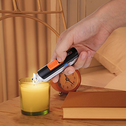 Lighter, Tacklife ELY03 Electric Arc Lighter, USB Rechargeable Electric Lighter with Li-Ion Battery 300 Times Spark for Per Charge, Windproof Pocket & Candle Lighter for Indoor and Outdoor by TACKLIFE (Image #4)
