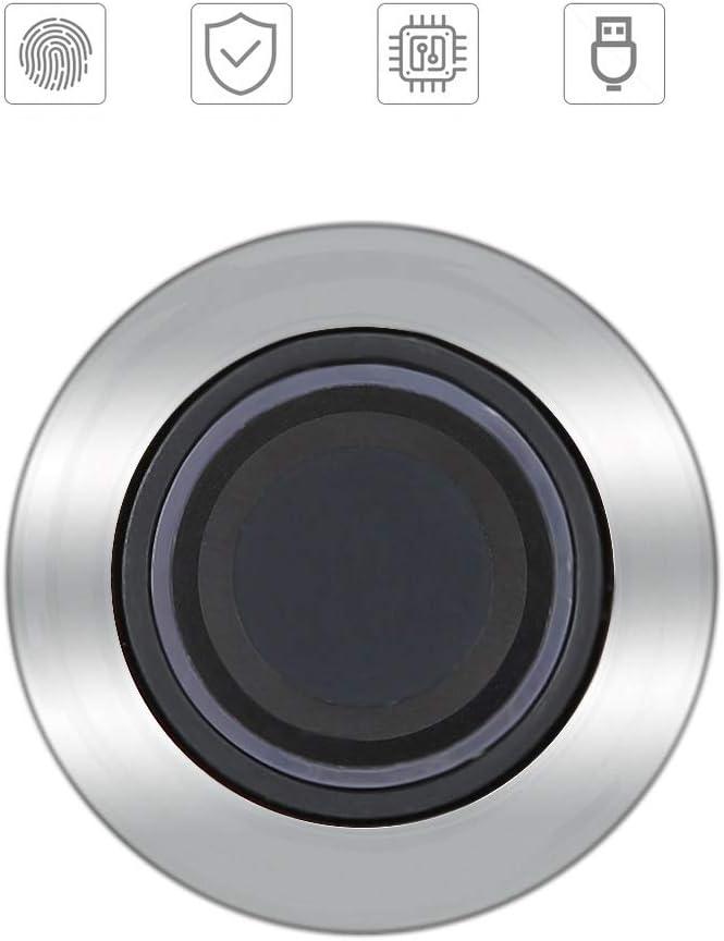 Diebstahlsicherer Halbleiter Keyless Fingerabdruck Verschluss biometrisches Fingerabdruck-Sicherheitsschloss des Hauptfach-B/üro-Aktenschrank-Garderoben-biometrischen Fingerabdrucks