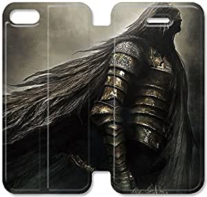 Premium Flip Ultra Slim Dark Souls-17 iPhone 6/6S Plus 5.5 Inch Leather Flip Case