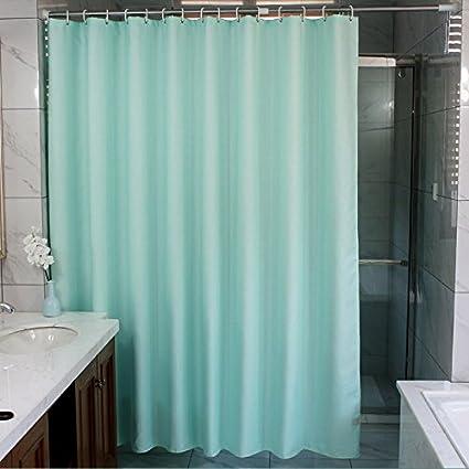 Znzbzt Thick Shower Curtain Bathroom Shower Curtain Water Resistant  Anti Mildew Bathroom Curtain