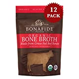 Bonafide Provisions Organic Beef Bone Broth. Non Gmo Small Batch Beef Broth (Frozen. 12 Pack). by Bonafide Provisions