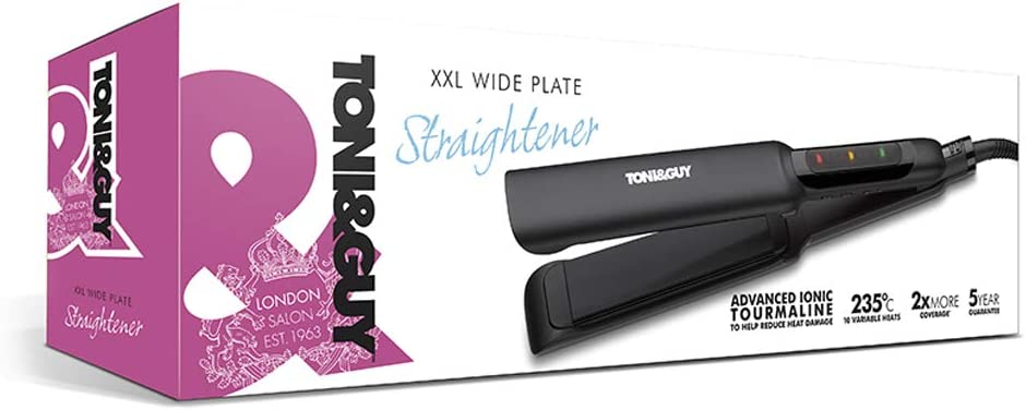 Toni & Guy Wide Plate Hair Straightener XXL