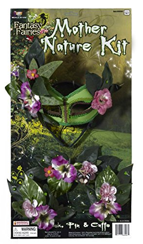 Forum Novelties Women's Instant Fairy Mother Nature Costume Accessory Kit, Multi, One size