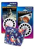 ViewMaster 3D Space Exploration - Storage Case - Moon Landing, Gemini, & Mercury 3D Images - 6 Reels
