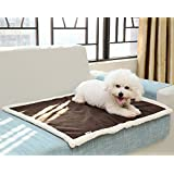 Pet Blankets Puppy Cushion Pad for Small Dog Cat Bed Reversible Micro Plush Fabric Warm Sleep Mat(S: 60*70cm)
