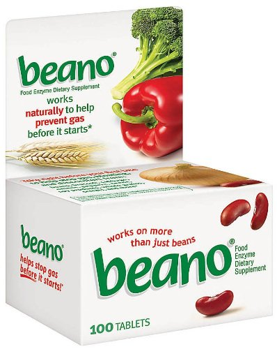 Beano Beano Tablets 100 tab ( Multi-Pack) by Beano