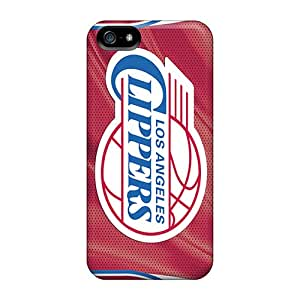 JoanneOickle Iphone 5/5s Shock Absorbent Cell-phone Hard Cover Unique Design Colorful Los Angeles Clippers Skin [lDa992pGPm]