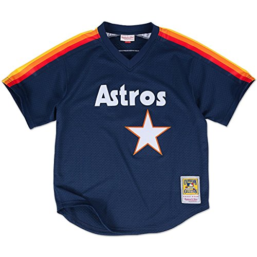 Jeff Bagwell Houston Astros Mitchell & Ness Authentic 1991 BP Jersey (Medium)