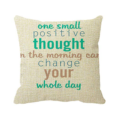 Automaket Good Morning Monday Quotes Home Decorative Pillow Cover 18 x 18
