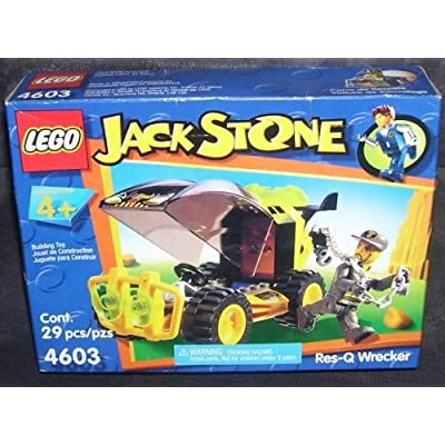 Lego JACK STONE RES-Q WRECKER Building Toy #4603 by LEGO: Toys & Games