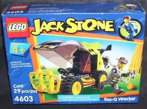 Lego JACK STONE RES-Q WRECKER Building Toy #4603