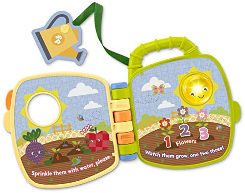 Fisher-Price FMX51 Tiny Garden My Garden Book, Multicolor