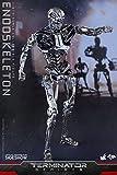 """Hot Toys Terminator Genisys T-800 Endoskeleton Endo 1/6 Scale 12"""" Figure"""