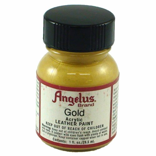 Springfield Leather Company's Gold Acrylic Leather Paint