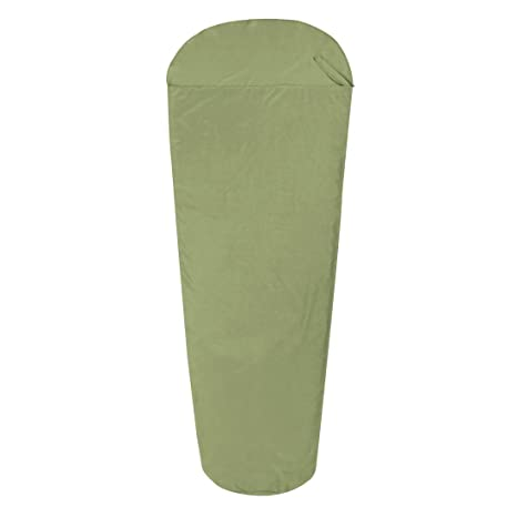10T Outdoor Equipment 10T TC Inlet MG Forro del Saco de Dormir, Verde, Estándar