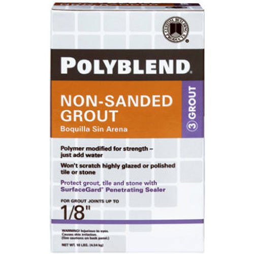 CUSTOM BLDG PRODUCTS PBG2210 10-Pound Tan Non-Sanded Grout