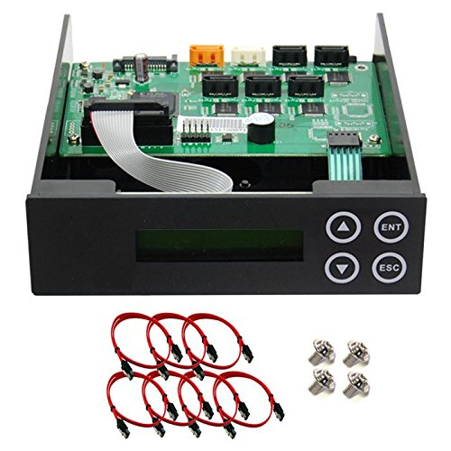 1-2-3-4-5 Blu-ray CD/ DVD/ BD SATA Duplicator Copier CONTROLLER + Cables Screws & Manual Optical Drive by Produplicator