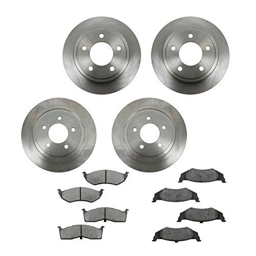 Front & Rear Metallic Brake Pads & Rotors Kit Set for Chrysler - Intrepid Chrysler Specifications