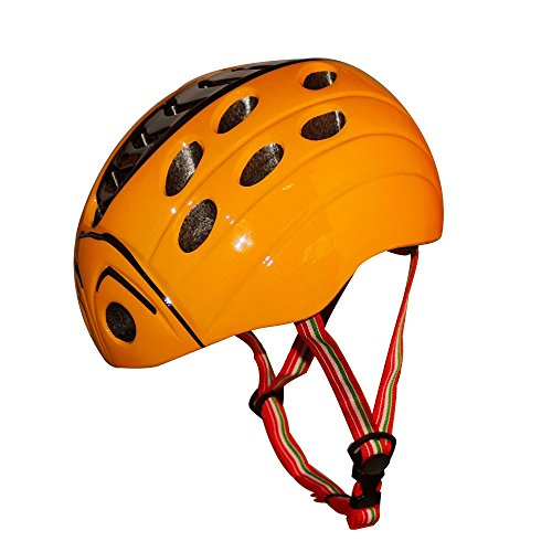 KuYouKids-Skateboarding-HelmetAdjust-Size-Multi-impact-ABS-Shell-for-Children-Cycling-Skateboarding-Skate-Inline-Skating-RollerbladingYellow