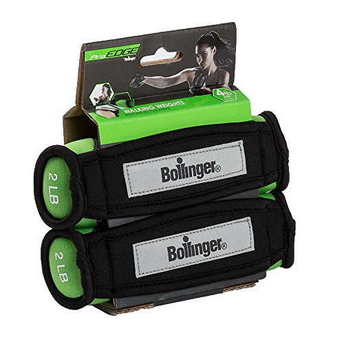Bollinger Pro Edge Hand Weight, 2lbs by Bollinger Fitness