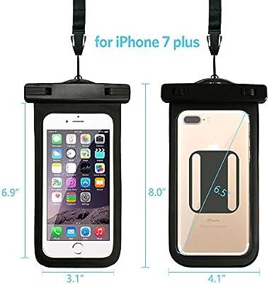 Amazon.com: iPhone 7 Plus – Teléfono móvil impermeable bolsa ...