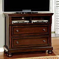 247SHOPATHOME Idf-7682TV Drawers, media chest, Cherry