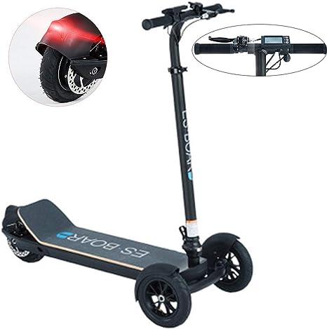 MY1MEY Scooter Elettrico, Pieghevole Adulti Monopattino Elettrico E-Scooter 3 Ruote