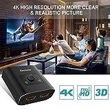HDMI Switch 4K HDMI Splitter-Techole Aluminum