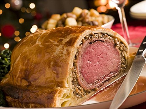 USDA Prime Beef Filet Mignon Wellington, 4-4.5 lbs