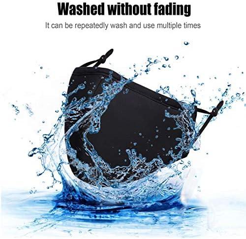 Cloth Washable Reusable - Adjustable Dust Unisex Adult for Women Men - 3 PCS