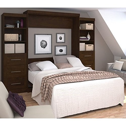 Murphy Bed Office (Bestar Furniture 26884-69 Pur 115