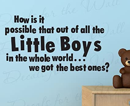 Amazoncom How Is It Possible That Out Of All The Little Boy