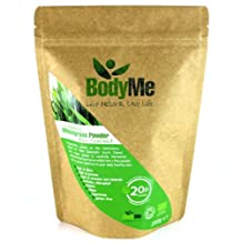 BodyMe Organic New Zealand Wheatgrass Powder | 500 g (2 x 250g) | Soil Association Certified