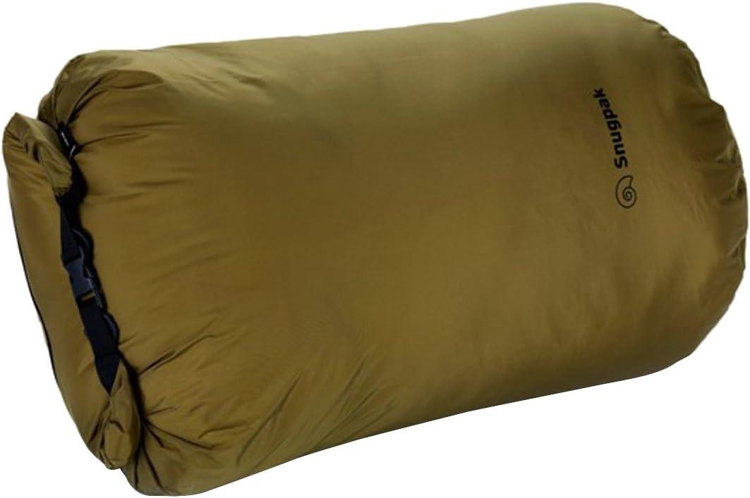 Snugpak Dri-Sak, Waterproof Storage Bag with Roll and Clip Seal, Medium, Olive